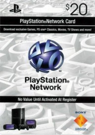 PlayStation Network Card (US) PSN Wert 20 USD