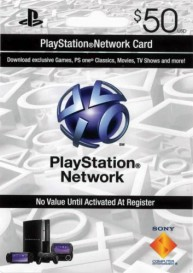 PlayStation Network Card (US) PSN Wert 50 USD