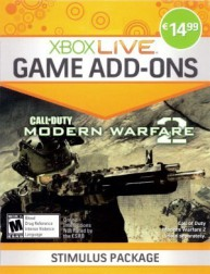Modern Warfare 2 : Stimulus Package - Xbox 360 Live Game Add-On