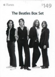 iTunes Karte (US) The Beatles Box Set