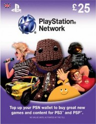 PlayStation Network Card (UK) PSN Wert 25 GBP