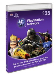 PlayStation Network Card (UK) PSN Wert 35 GBP