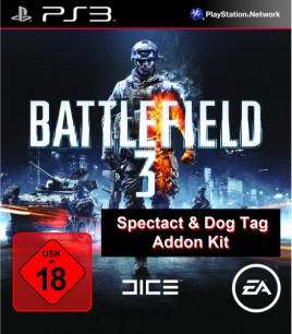 Battlefield 3 Specact & Dog Tag Addon Kit (PS3) - Addon Key