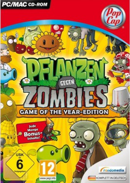 Pflanzen gegen Zombies: Game of the Year-Edition (PC) - CD Key