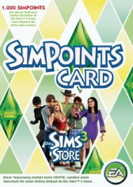 Sim Points 1000 Punkte Card