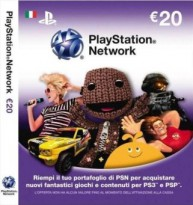 PlayStation Network Card (IT) PSN Wert 20 EUR