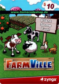 FarmVille 10 USD - Zynga Game Card