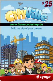 CityVille 25 USD - Zynga Game Card