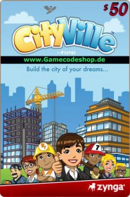 CityVille 50 USD - Zynga Game Card