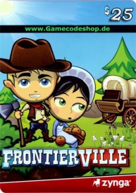 FrontierVille 25 USD - Zynga Game Card