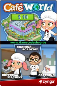Café World 10 USD - Zynga Game Card
