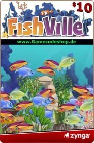 FishVille 10 USD - Zynga Game Card