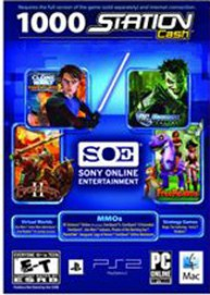 SOE - Sony Station Cash  1.000