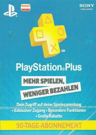PlayStation Network Plus 3 Monate Mitgliedschaft (AT)