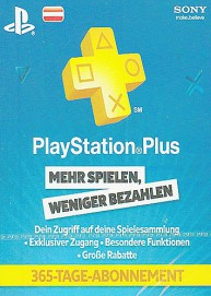 PlayStation Network Plus 12 Monate Mitgliedschaft (AT)