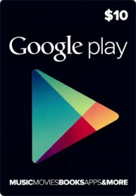 Google Play Card Wert 10 USD