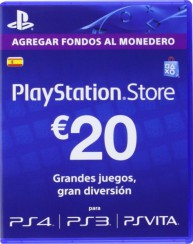 PlayStation Network Card (ES) PSN Wert 20 EUR