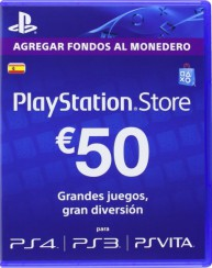 PlayStation Network Card (ES) PSN Wert 50 EUR