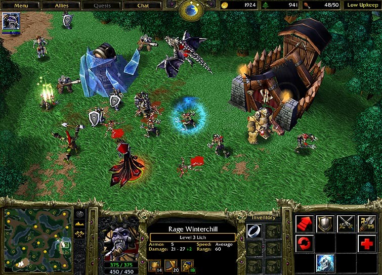 cd ключ на warcraft reign of chaos: